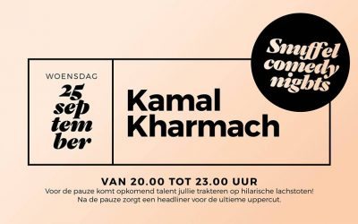 25/09 Snuffel Comedy Night // Kamal Kharmach